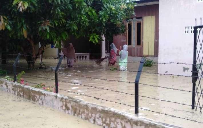 Hujan Lebat Sebabkan Banjir di Pidie Aceh